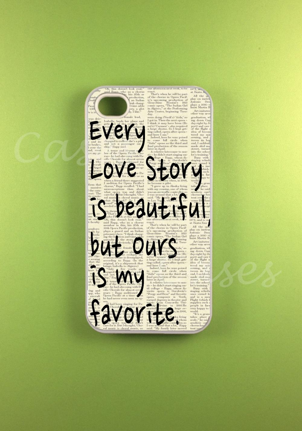 Iphone 4s Case Our Story Iphone Case Iphone 4 Case On Luulla